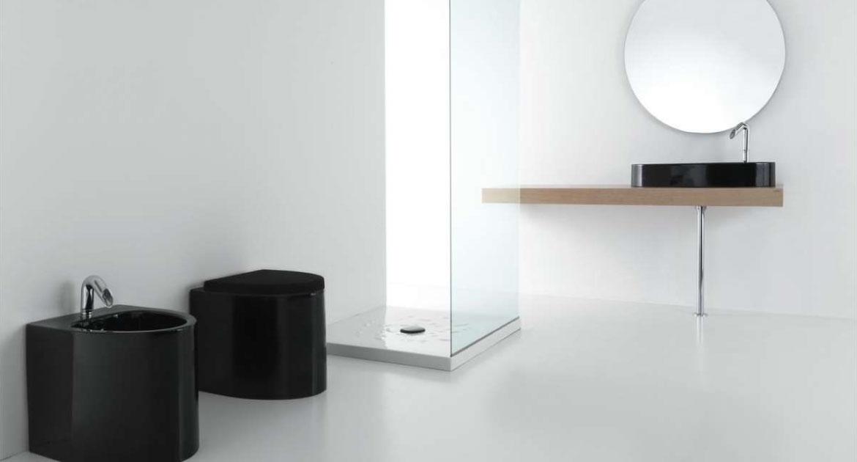 Bagno Minimal Nero - Idea Ceramica